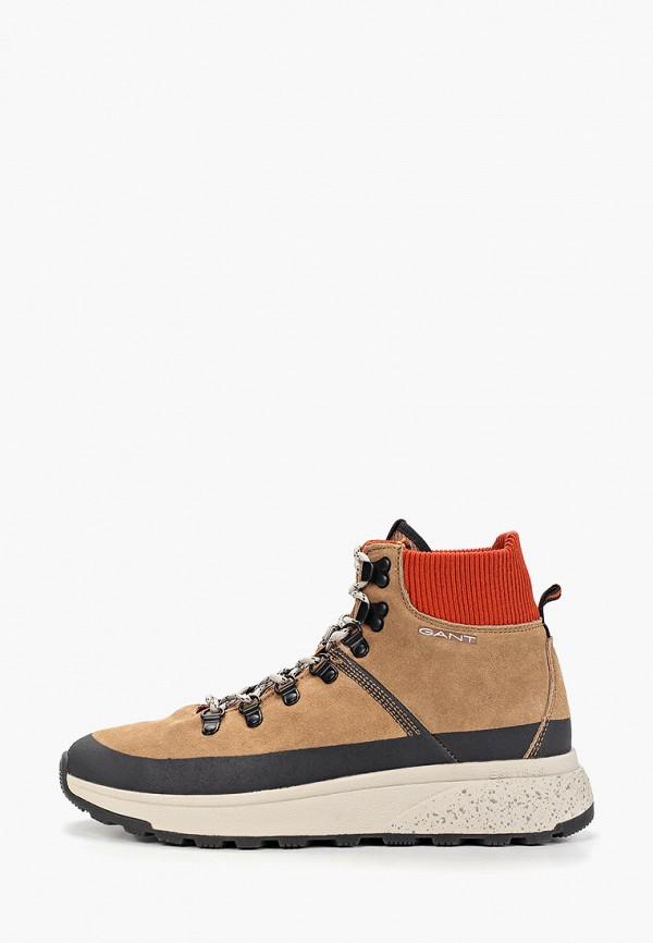мужские кроссовки gant, коричневые