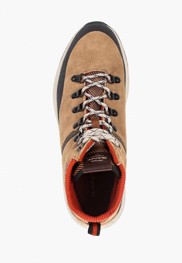 Фото 4 - Кроссовки Gant коричневого цвета