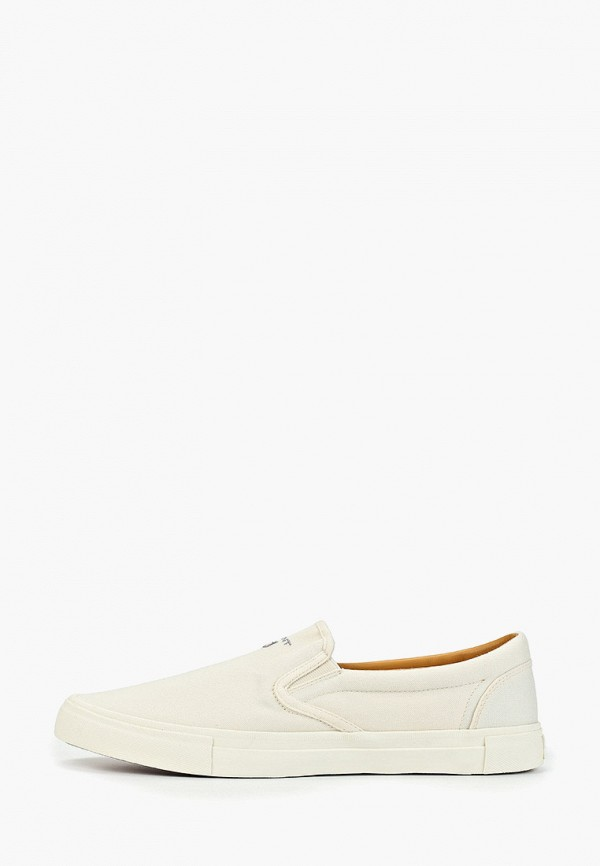 мужские слипоны gant, белые