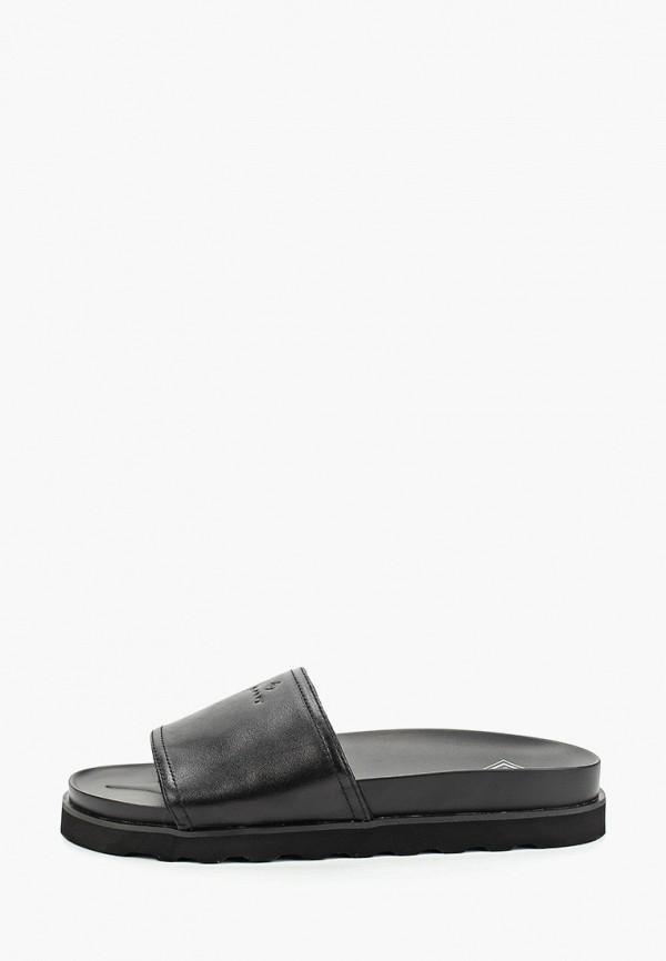 мужские сандалии gant, черные