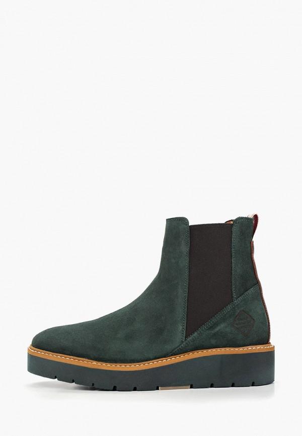 женские ботинки gant, зеленые