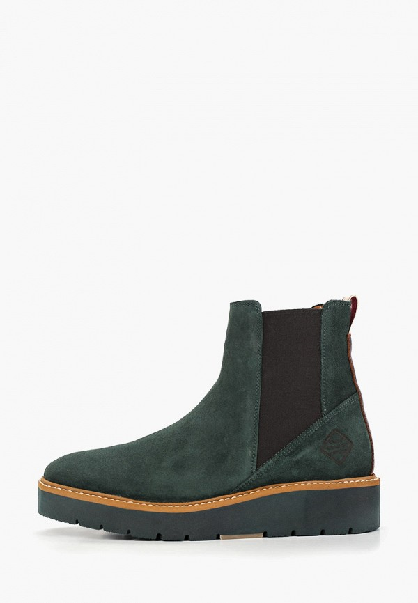 Фото - женские ботинки и полуботинки Gant зеленого цвета