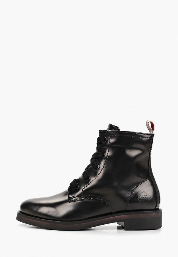 женские ботинки gant, черные