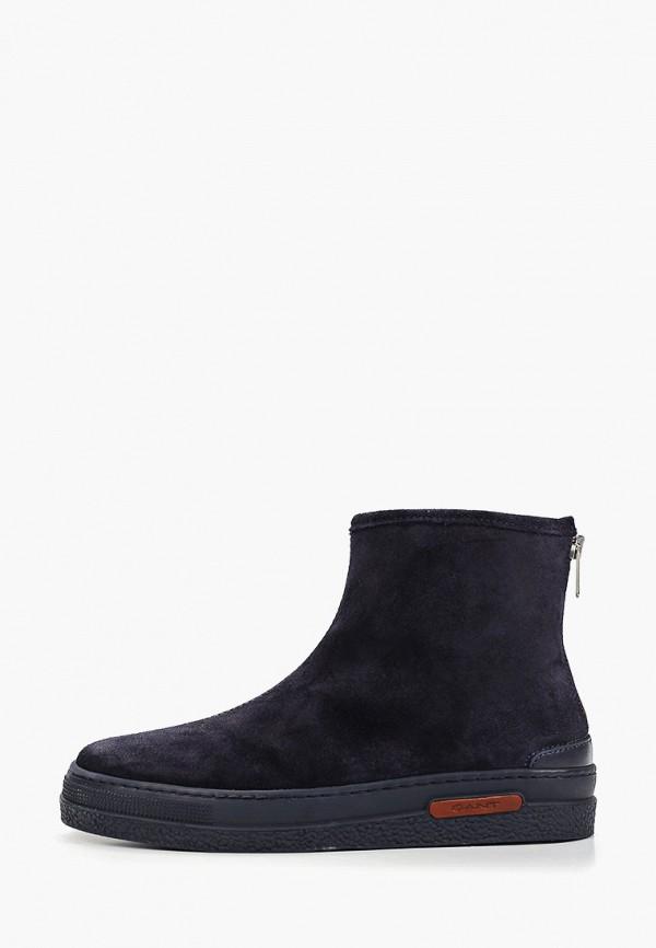 женские ботинки gant, синие