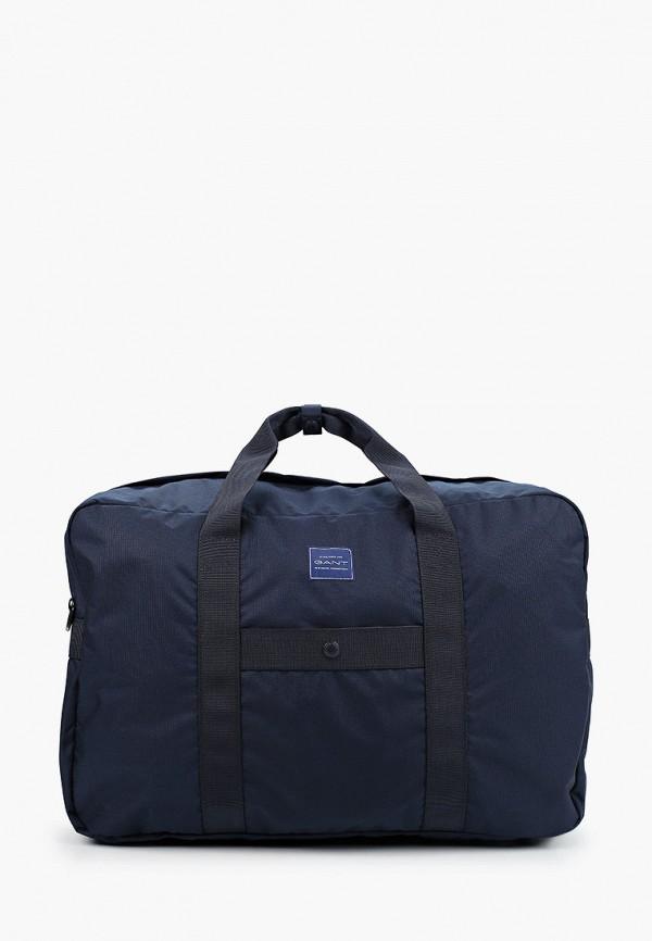 мужская сумка gant, синяя