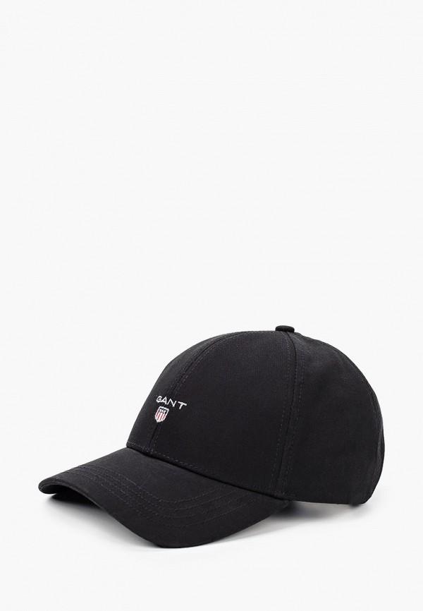 мужская бейсболка gant, черная