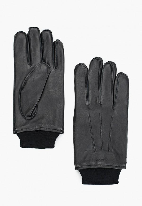 мужские перчатки gant, черные