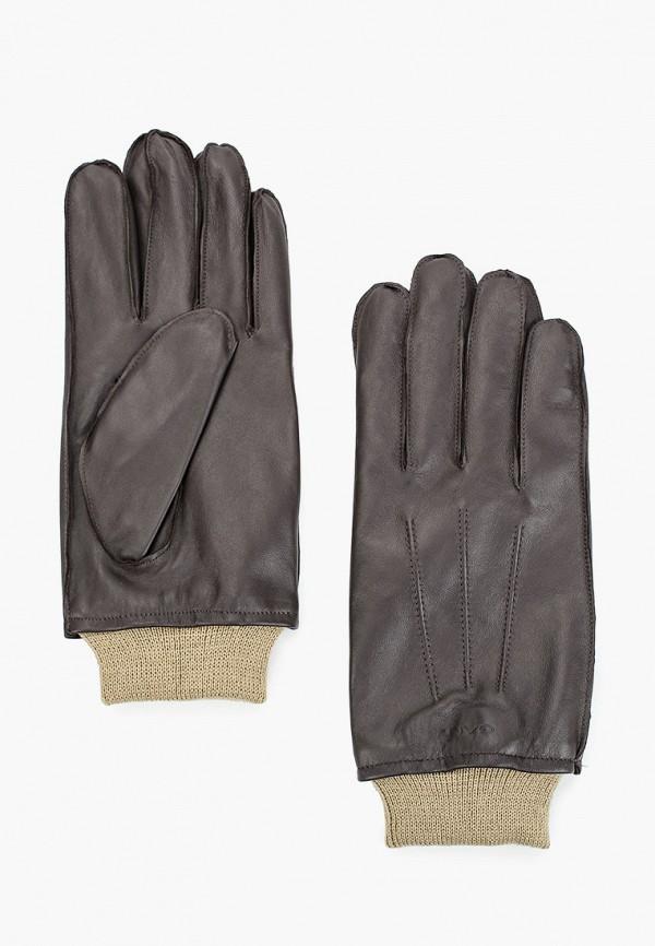 мужские перчатки gant, коричневые