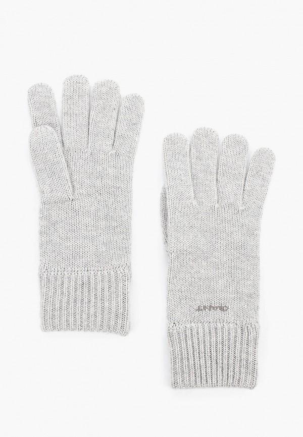 женские перчатки gant, серые