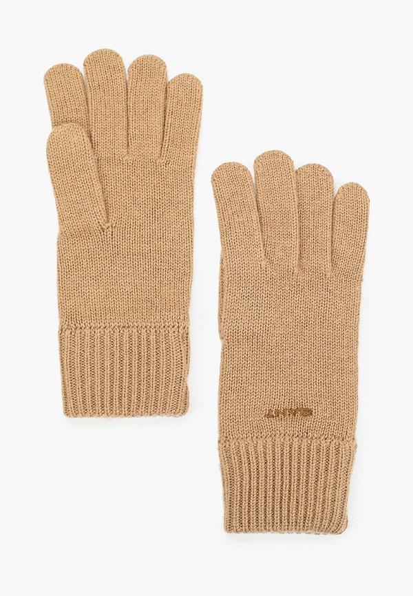 женские перчатки gant, бежевые