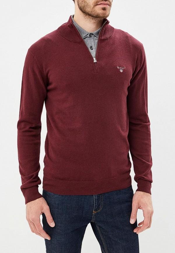 мужской джемпер gant, бордовый