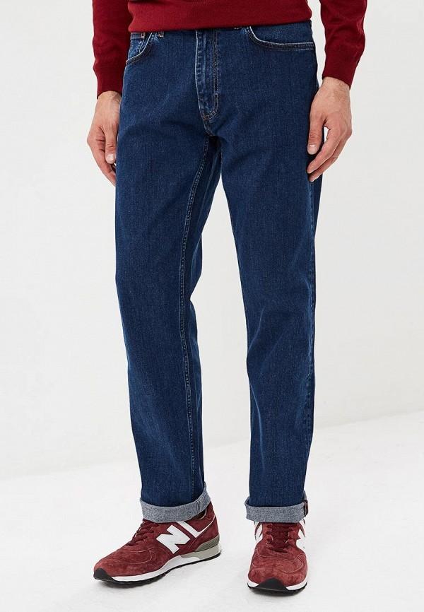 мужские прямые джинсы gant, синие