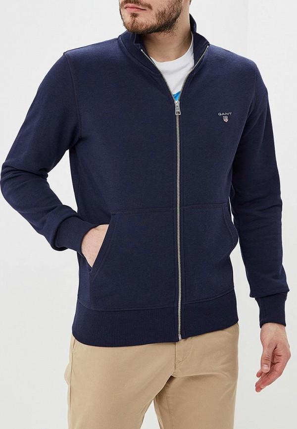 мужская олимпийка gant, синяя