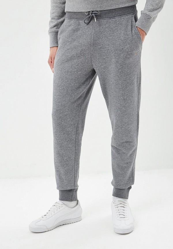 мужские спортивные спортивные брюки gant, серые