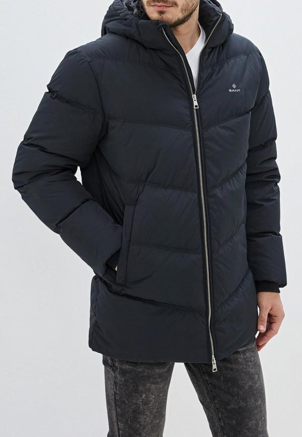 мужской пуховик gant, черный