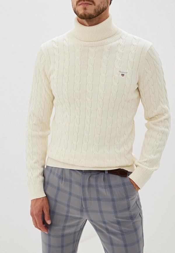 мужской свитер gant, белый