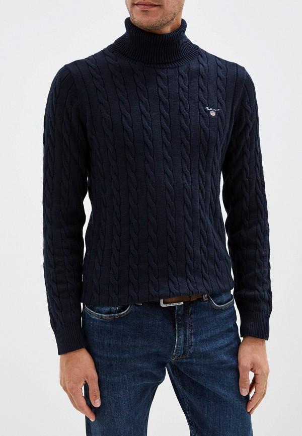 мужской свитер gant, синий