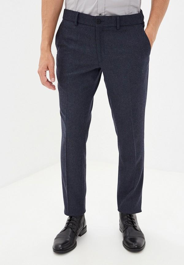 мужские классические брюки gant, синие