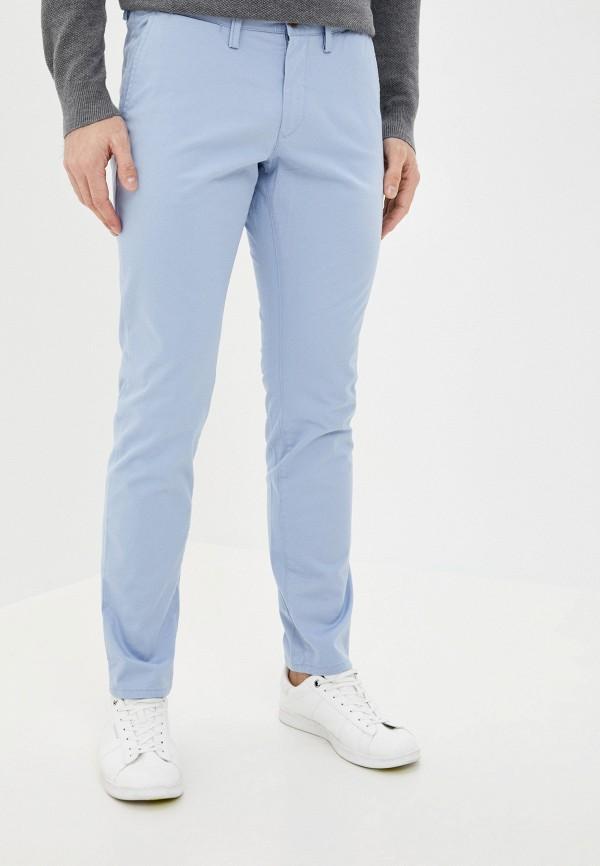 мужские брюки чинос gant, голубые
