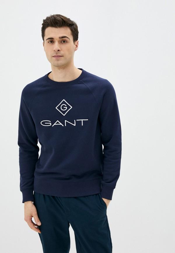 мужской свитшот gant, синий
