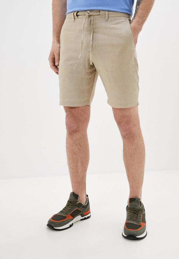 мужские повседневные шорты gant, бежевые