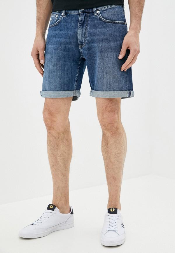 мужские джинсовые шорты gant, синие