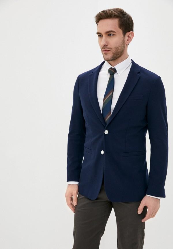 мужской пиджак gant, синий