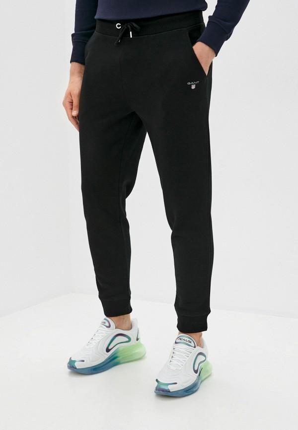 мужские спортивные брюки gant, черные