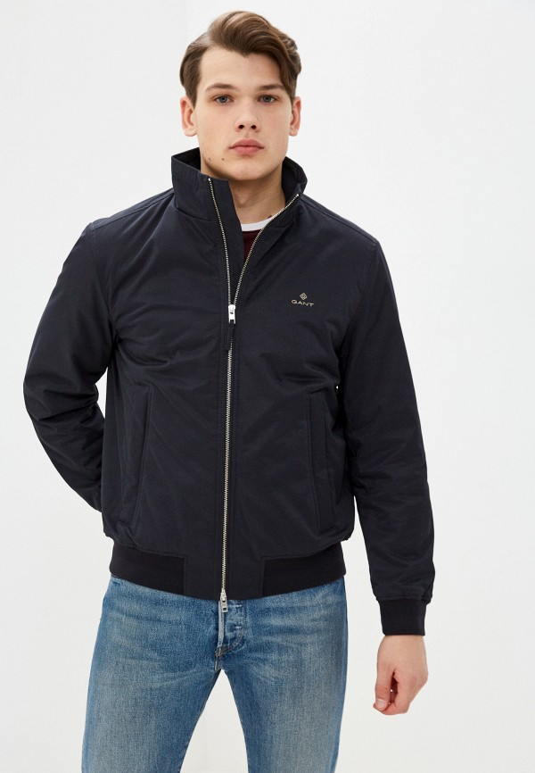 мужская куртка gant, черная