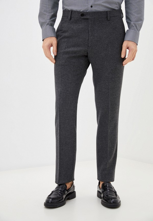 мужские классические брюки gant, серые