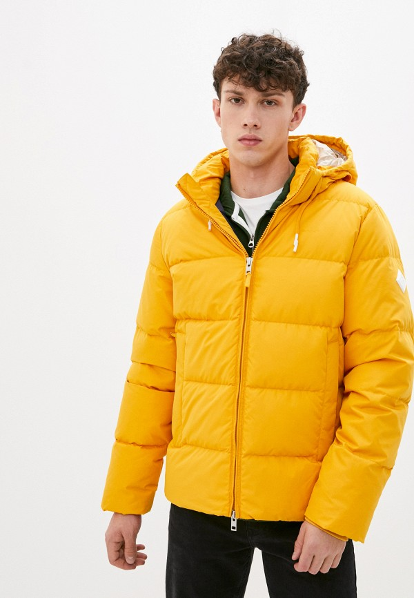 мужской пуховик gant, желтый