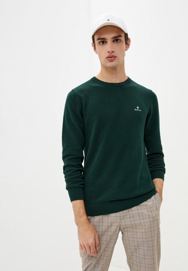мужской джемпер gant, зеленый