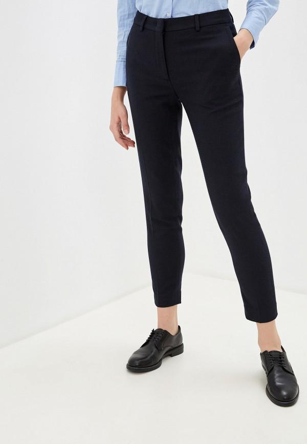 женские классические брюки gant, синие