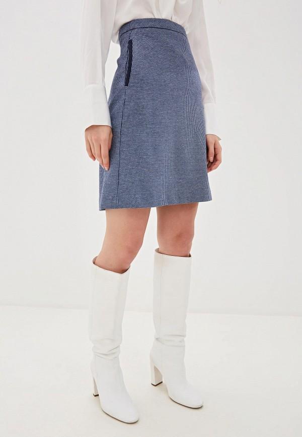 женская юбка gant, синяя