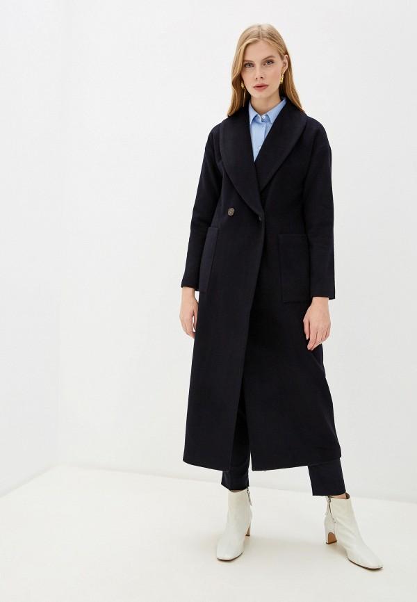 женское пальто gant, синее