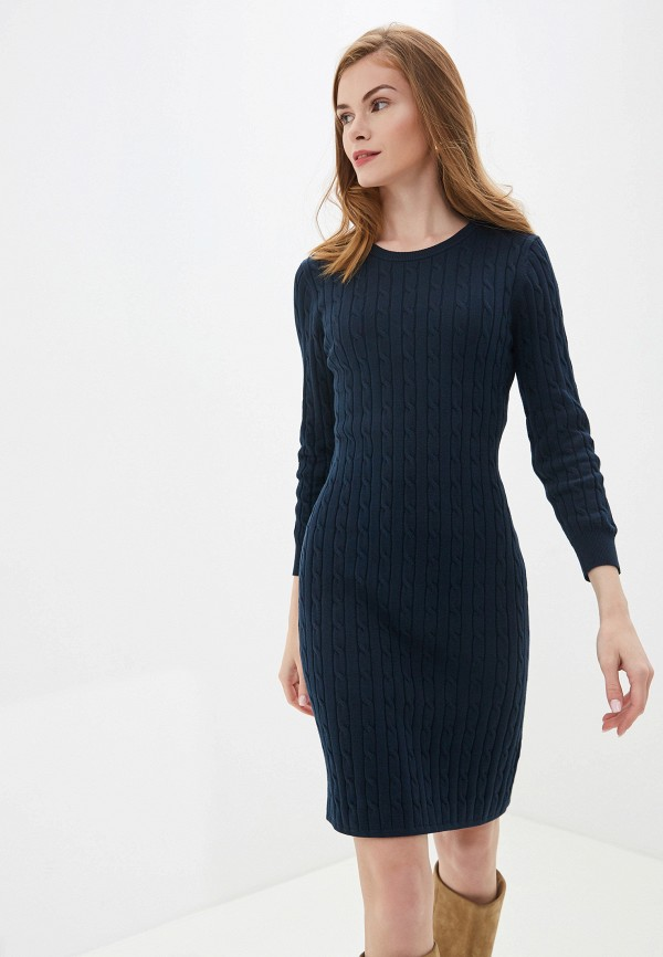 женское платье gant, синее