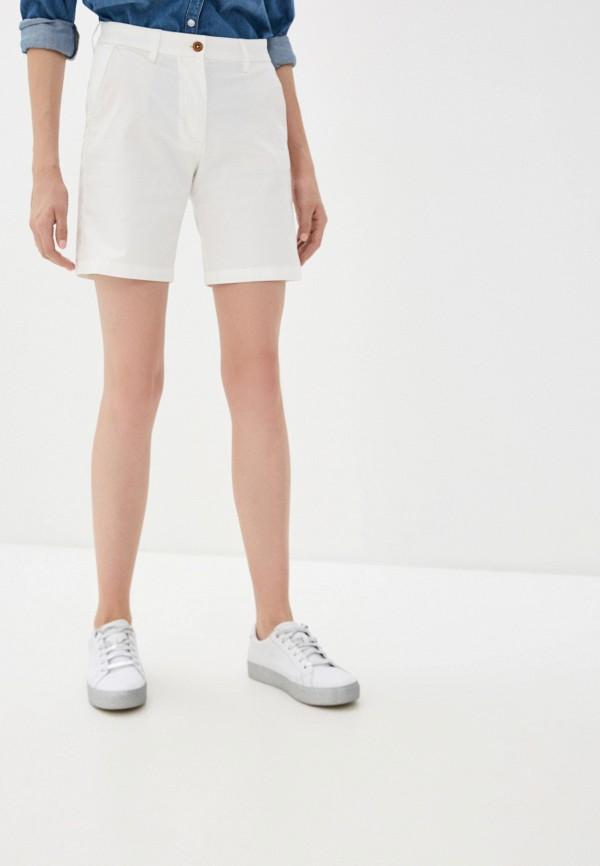 женские повседневные шорты gant, белые