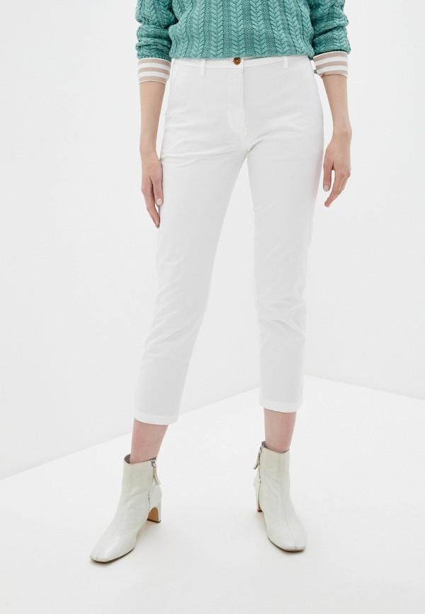 женские повседневные брюки gant, белые