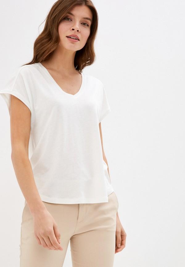 женская футболка gant, белая