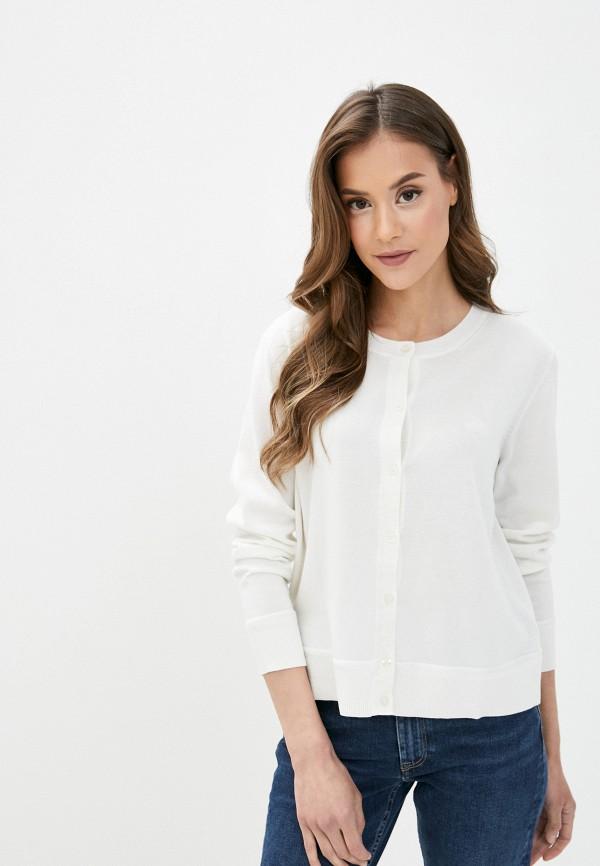 женский кардиган gant, белый