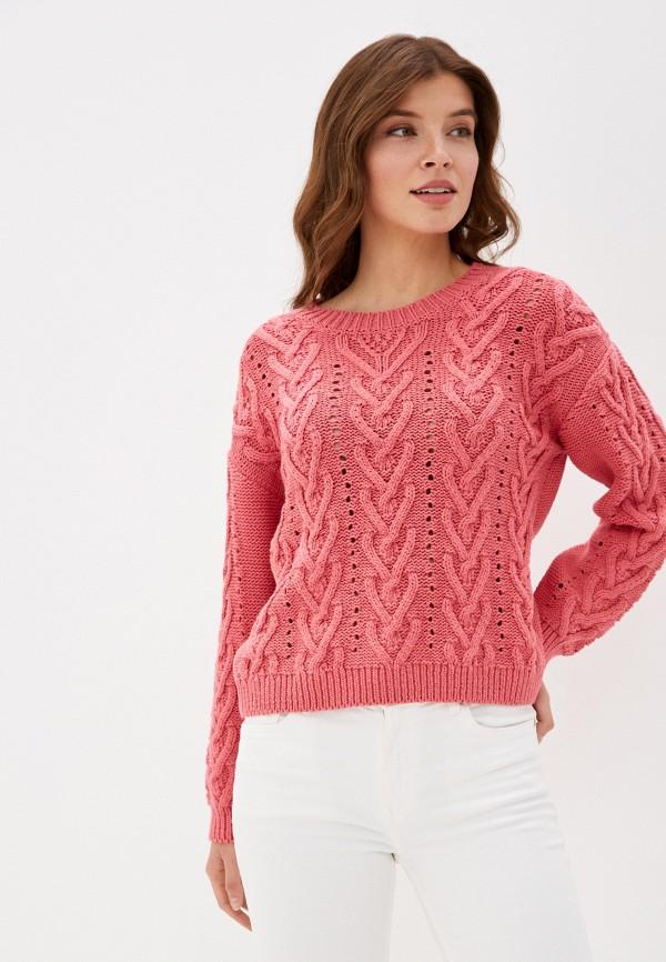 женский джемпер gant, розовый