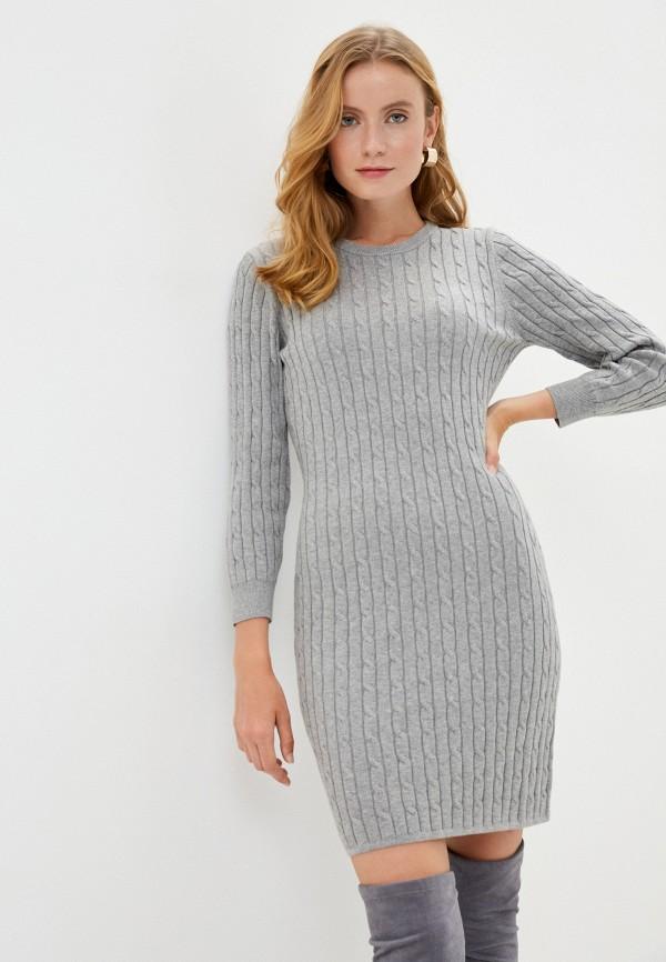 женское платье gant, серое