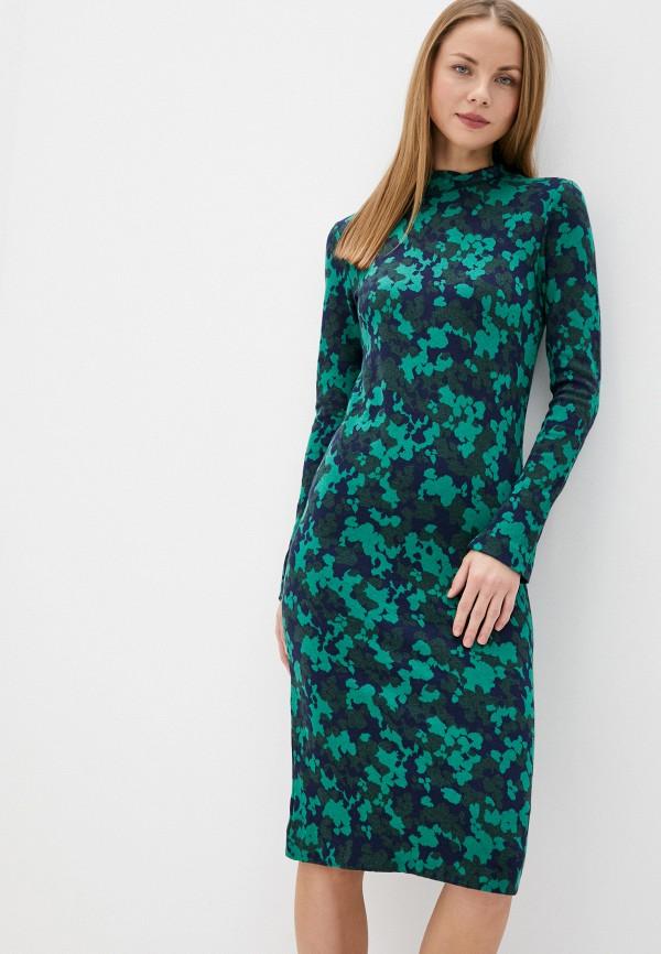 женское повседневные платье gant, зеленое