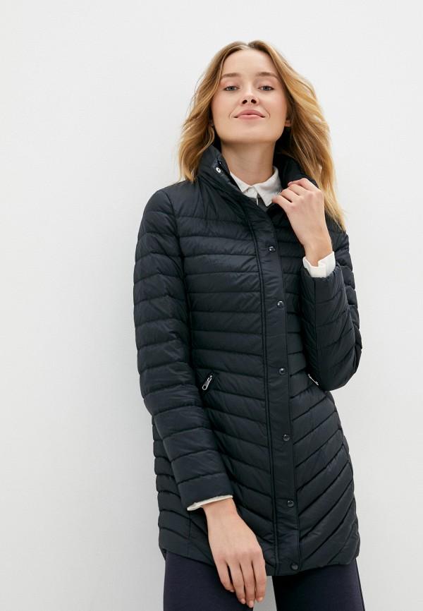 женская куртка gant, черная