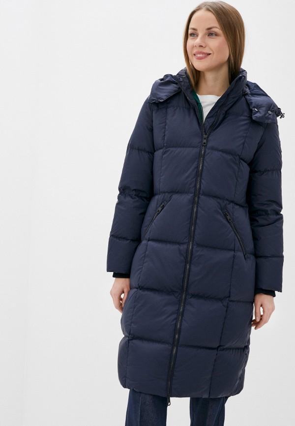 женская куртка gant, синяя