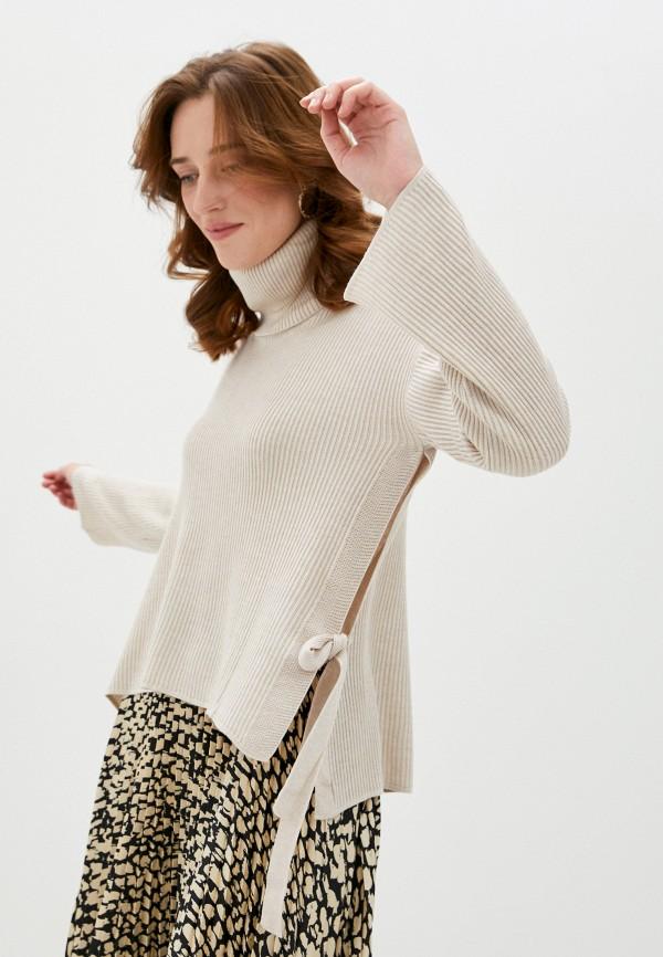 женский свитер gant, бежевый