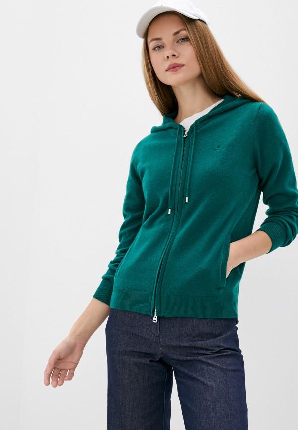 женский кардиган gant, зеленый