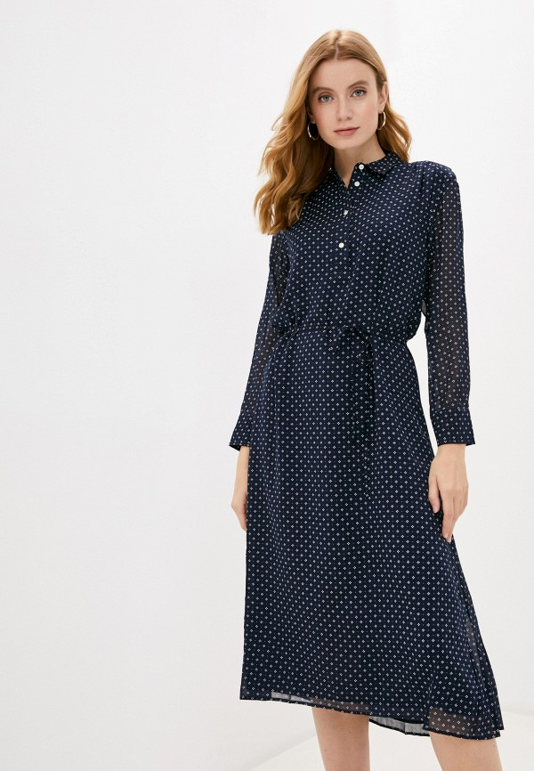 женское повседневные платье gant, синее