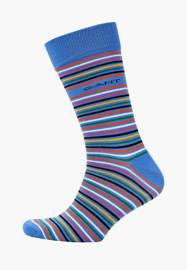 мужские носки gant, голубые
