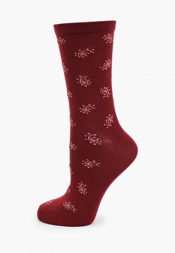 женские носки gant, бордовые